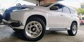 Paket murah Velg baru pajero Ring 20 plus ban MT accelera