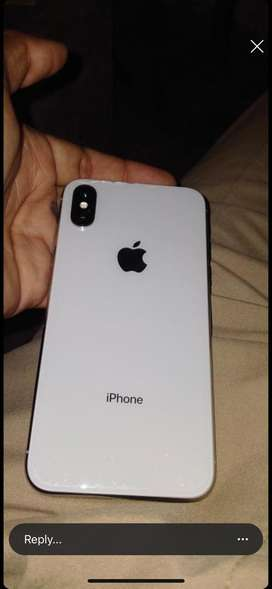 iphone x 256 white 87 %battery