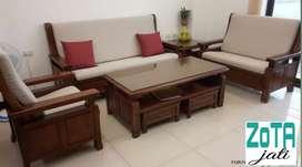 Kursi tamu mewah minimalis modern Jati kering perhutani asli Jepara