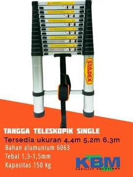Tangga telescopic single anti goyang