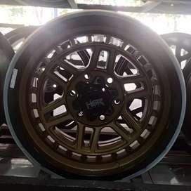 Velg Mobil Ring 17 HSR Dopang Untuk Everest Prado Triton cicilan 0%