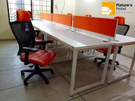 Office Workstation Unit for Two Persons