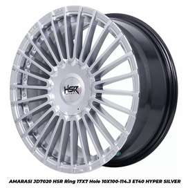 Velg racing AMARASI JD7020 HSR R17X7 H10X100-114,3 ET40 HS