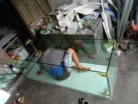 Pembuatan aquarium baru