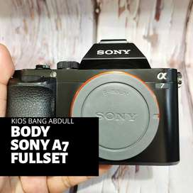Sony A7 Body Only Fullset