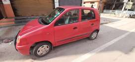 Hi i want to sell my car hyundai santro with AC petrol model