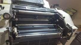 2 colour offset printing machine