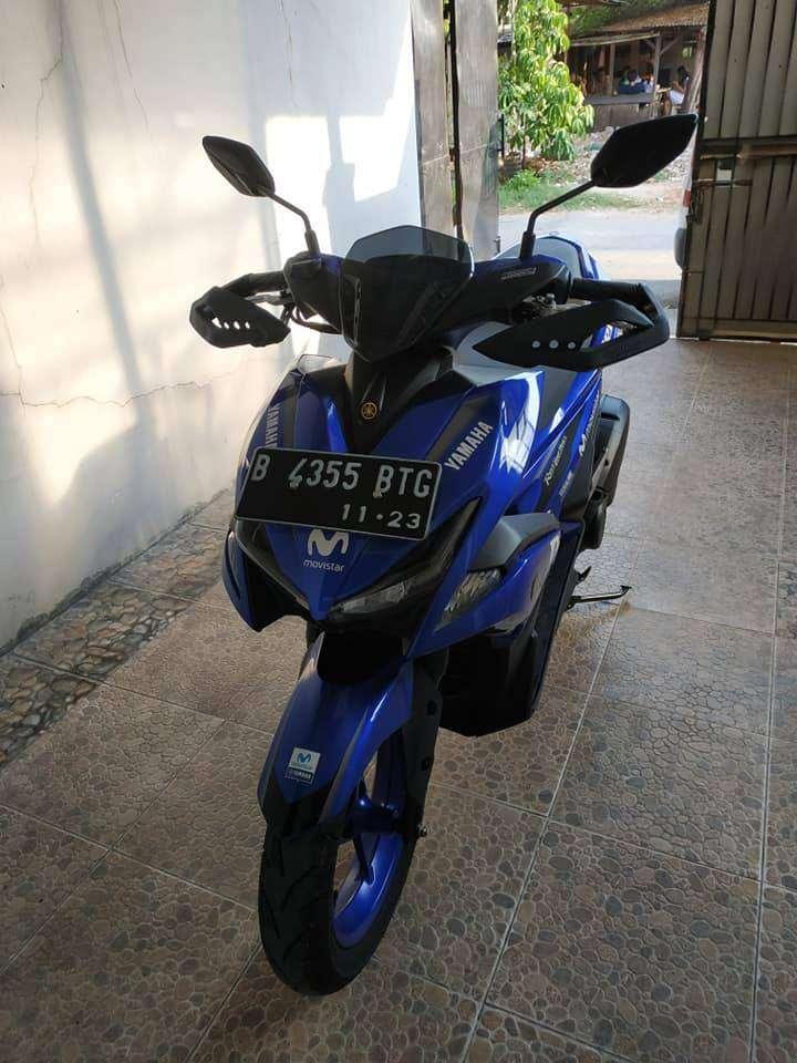 Yamaha Aerox 155 VVA R GP Version , 2018 , Mulus , KM Rendah , No PR 0