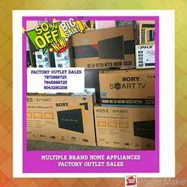 FACTORY OUTLET SALES AC WASHING MACHINE HOME THEATER FRIDGE LED TV