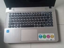 Laptop Asus x441n Intel caleron ram 4gb HDD 500gb
