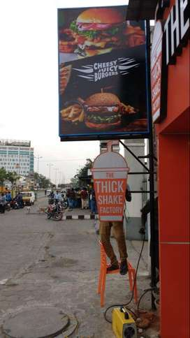FOR SALE: The Thickshake Factory and Cheesy Juicy Burgers