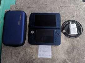 New Nintendo 3DS LL XL Blue 16GB Plus Pouch 0