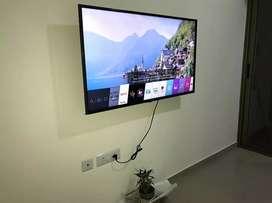 LG TV full automatic and Fridge 260