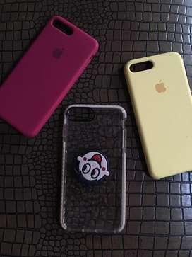 soft case & hard case iphone 7+ premium