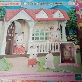 Mainan anak sylvanian families baru