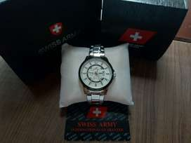 Dijual jam SWISS ARMY swatch original