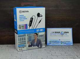 Mic Boya M1 Untuk HP Laptop PC Mic Clip On Jack 3.5mm