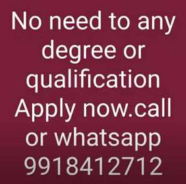 This job is very special no boss no time limtation so join us quickly