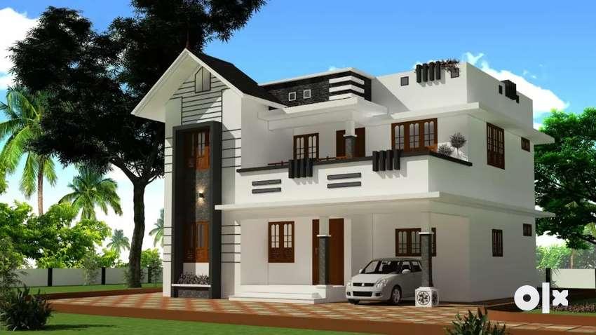 Silver spring villas_ Perumbavoor project- 1900 sqft, 4 bedroom, 0