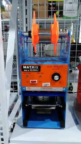 MATRIX cup sealer manual ET D8 by ETON
