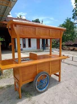 gerobak angkringan free ongkir 551