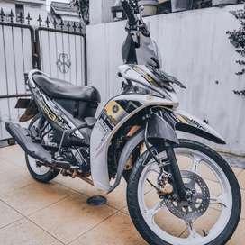 sepeda motor murah yamaha force one 2013 (surat2 masih sangat lengkap)