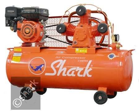 Kompresor (Air Compressor) Shark 2HP JVU-6502 With Engine 0