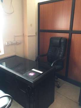 This is 450 sqft fully furnishd office for rent in subhash road