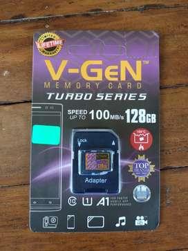 Memory HP MicroSD V-GeN Vgen 128gb