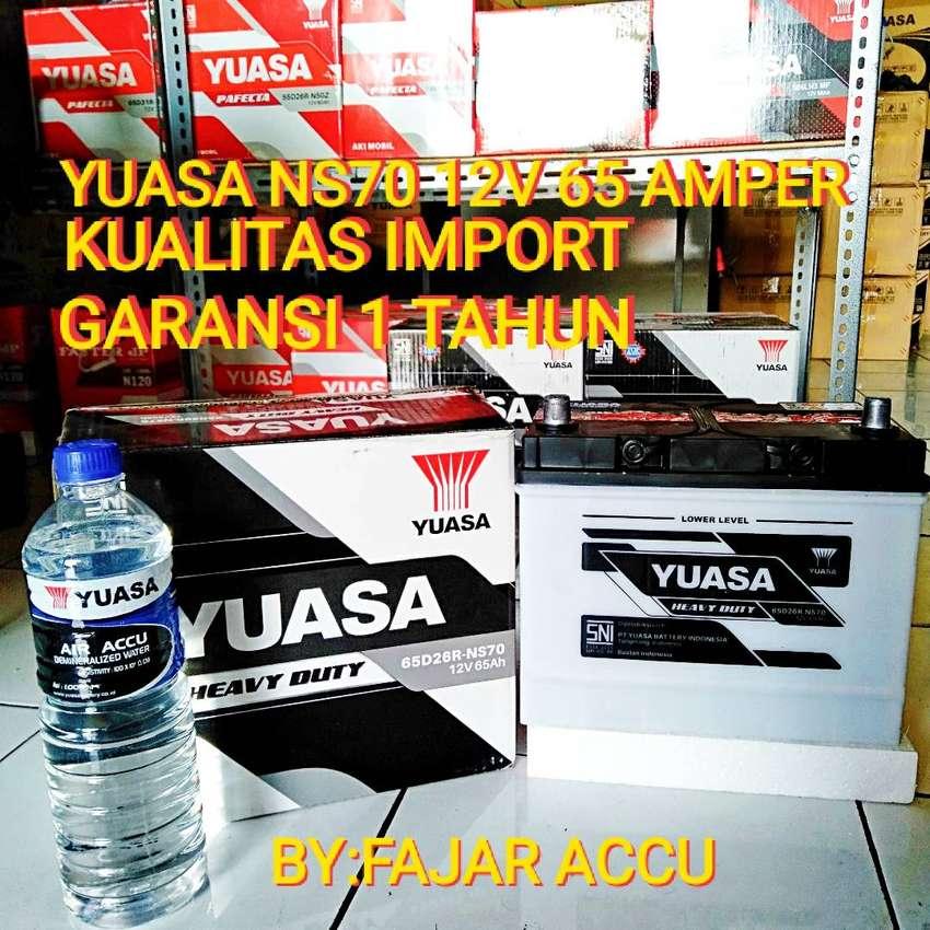 Yuasa heavy duty type ns70 65 amper kulitas import 0
