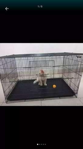 Kandang lipat besar JUMBO TERMURAH-Bisa untuk kucing anjing dan burung