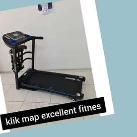 jual treadmill elektrik total TL-619 R-34 treadmil electric