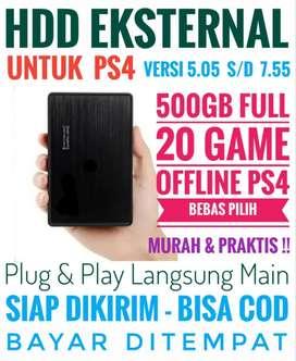 HDD 500GB Mantap Murah FULL 20 Game Terlaris PS4 Bebas Pilih