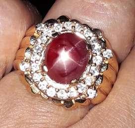 Natural ruby star windusara
