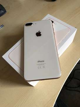 iPhone 8 Plus Plus 1 months used phone available on EMI and COD