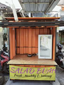 Booth Gerobak Container / booth container/ gerobak container