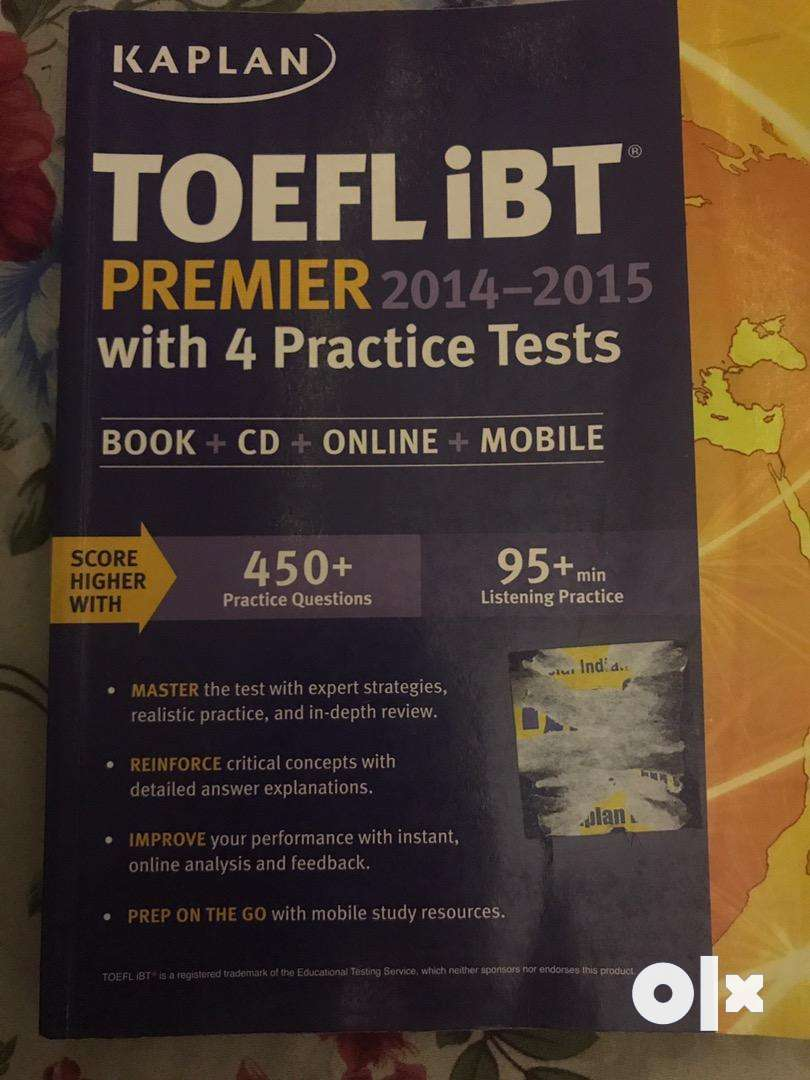 Kaplan TOEFL iBT Premier 2014-2015 with 4 Practice Tests: Book 0