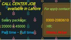 Jobs in Lahore for students