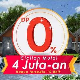 Promo Tanpa DP Rumah di Setu, Cash free tanpa diundi sepeda motor
