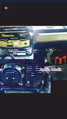 GENSET IMPORT MAESTRO MT 5000 CE. bahan bakar bensin