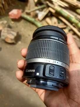 Canon lens 18 55 mm