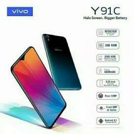 SALE Vivo Y91c BNIB grs resmi 1th cod Bdg kota Free Ongkir