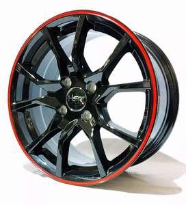 Jual velg HSR Ring 15 cocok untuk mobil Brio, agya, Calya, sigra