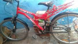 Bicycle red colour GOOD condition