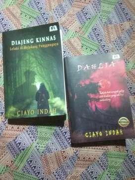 novel dahlia & diajeng kinnas by ciayo indah