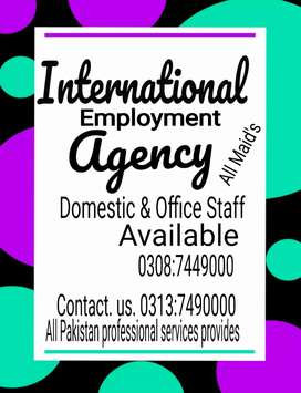 Maid's patient care all housekeeping All staff provides
