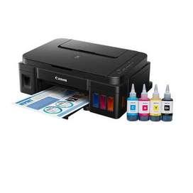 Canon Pixma G 1000 Single Function Color Printer  (Black, Refillable I