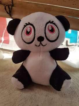 Boneka panda mini black white ex hadiah