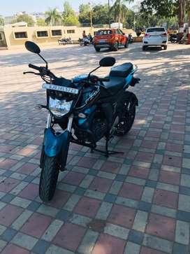 Full insurance, rajkot passing, one owner, black/blue colour
