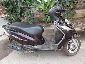 TVS Wego 110cc petrol scooty